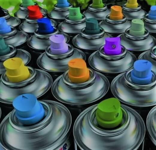 порошковая краска в балончиках